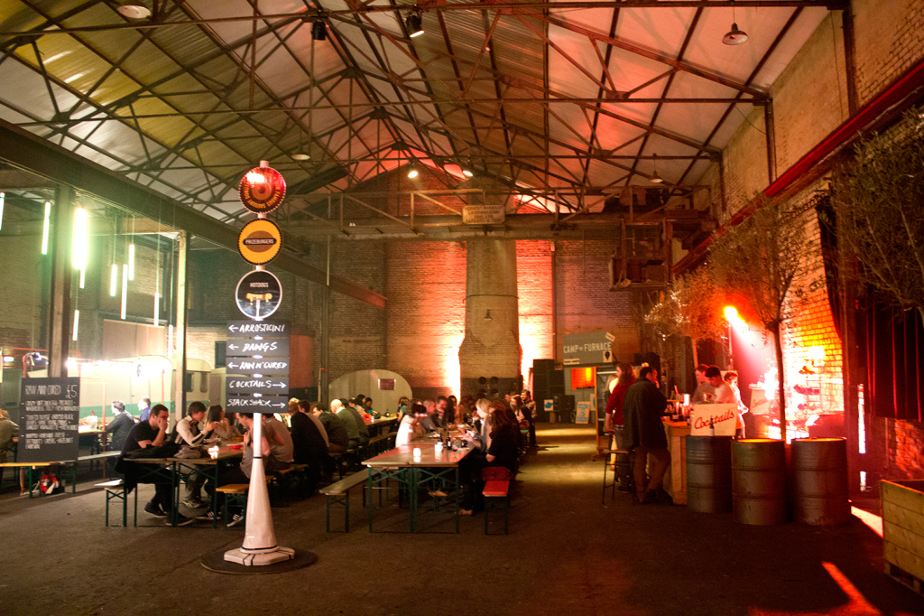 Camp and Furnace - Food Slam